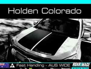 2012-2015 HOLDEN Colorado bonnet stripes decals stickers LTZ Z71