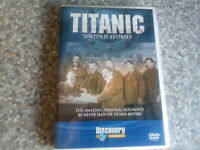Dvd titanic untold stories
