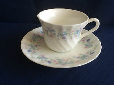 Wedgwood Angela (fluted) coffee cup & saucer