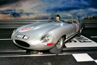 1/32 Jaguar E-Type Nür. 1000km 1963 Carrera 132/124, Scalextric ARC Analog,Licht
