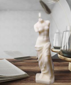 Venus de Milo David Greek Roman Candle Soap Resin Craft Silicone Mould DIY