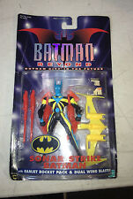 1999 Hasbro Batman Beyond Sonar Strike Action Figure with Ramjet Rocket Pack