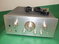 TEAC Vintage Stereo Integrated Amplifier Amp A-H500i Champagne Quality  FAULTY