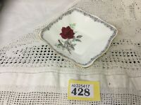 ROYAL STAFFORD Roses To Remember Tea Set For 2 Trios Milk Jug Sugar Cake Plate