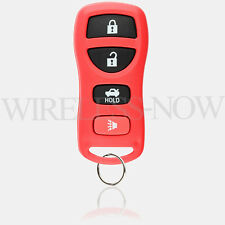 Car Fob Keyless Remote Red For 2002 2003 2004 2005 2006 Nissan Altima Maxima
