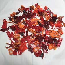 lego bionicle hero factory lot Red Orange