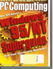 PC Computing Magazine - September, 1996 Back Issue COMPUTER Magazine