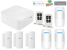 O01 IOS/Android APP WiFi IP Internet Wireless Home Security Alarm Burglar System