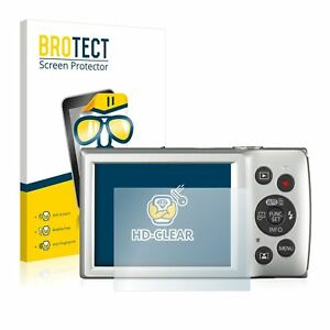 Canon Digital Ixus 185 , 2 x BROTECT® HD-Clear Screen Protector, hard-coated
