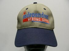 INDEPENDENT WELDING SUPPLY - ONE SIZE ADJUSTABLE BALL CAP HAT!