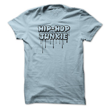 Mens medium tshirt Hip Hop Junkie graffiti drips music