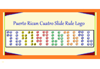 PUERTO RICAN CUATRO 5 POSITION LOGO REFRIGERATOR MAGNET