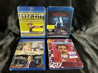 Blu Ray Dvd Lot: HER, Moneyball, Truth, Damages Season 1. FAST SHIPPER