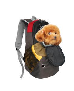 Dog Cat Carrier Mesh Outdoor Backpack Pet Bag Medium Size High Quality