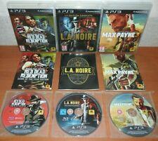 Red Dead Redemption GOTY + L.A. Noire La Edición Completa + Max Payne 3, ESP PS3