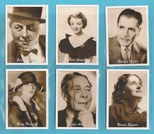 FILM  STARS  -  JF SPORTING COLLECTIBLES - SET OF XL 24  ACADEMY  AWARD  WINNERS