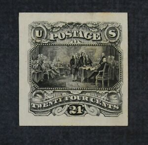 CKStamps: US Stamps Collection Scott#120P3 Unused H NG Proof Thin