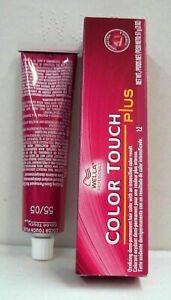 WELLA COLOR TOUCH PLUS ~ Demi-Permanent Oxidizing Hair Color Cream ~ 2 oz. Tube!