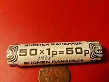 Finland *1 penniä *Aluminium Money stump 1978 (50 pcs) *cond.UNC *RARE coins