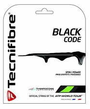 Tecnifibre Black Code Tennis String - Lime or Fire - 12m Set - BlackCode