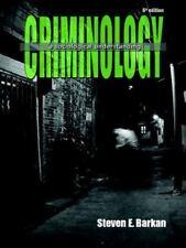 Criminology A Sociological Understanding 6th Ed. by Steven E Barkan