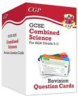 AQA 9-1 GCSE Combined Science Revision Question Cards All IN ONE Science CGP