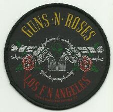 GUNS N ROSES los fn angeles 2014   - WOVEN SEW ON PATCH - free shipping