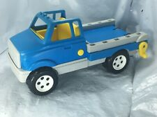 Vintage Toys R us Geoffrey Blue Yellow Tow Truck 1999 Free Shipping