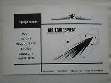 7/1969 PUB DBA AIR EQUIPEMENT AVION HELICOPTERE LANCEUR ENGIN SATELLITE AD