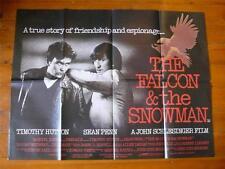 The Falcon and the Snowman~Original Quad Poster 1985~Timothy Hutton / Sean Penn