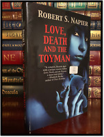 Love, Death, & Toyman ✍SIGNED✍ by ROBERT NAPIER New Hardback 1st Edition Print