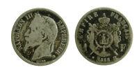 s53_20) Francia Napoleone III (1852-1870) - 1 Franc 1868 BB