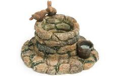 Miniature Dollhouse FAIRY GARDEN - Cobblestone Wishing Well - Accessories