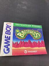 Battletoads Gameboy Instructions Manual Booklet