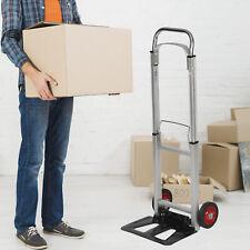 Kariyer Folding Hand Truck Portable Luggage Cart With Wheels Moving Warehouse