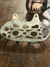 Estate Vintage Metal Wall Mount Bar Soap Dish - Farmhouse Decor