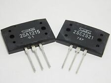 2SA1215 AND 2SC2921 / TRANSISTORS / 1 PAIR = 1 PIECE OF EACH TRANSISTOR (qzty)