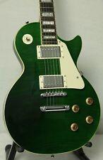 Stellar Mercury 001 Premium – Forest Green Flametop, Singlecut Electric Guitar