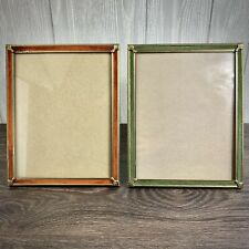 "Rare Antique Ornate Decorative Frame Vintage Victorian Gold Tone 8""x10"" Lot"