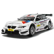 BMW M3 DTM 1:32 Alloy Diecast Model Car Toys Sound&Light Pull back White