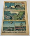 1941 cartoon page ~ FIGHTING SHIPS OF GREAT BRITAIN