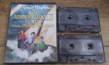 Enid Blyton THE ADVENTUROUS FOUR Audio Cassettes Phillip Schofield