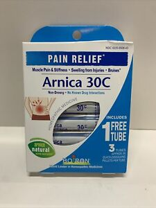 Boiron PAIN RELIEF Arnica 30C-  240 Count-New/Sealed -Exp 9/24