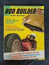 Rod Builder Magazine 1959 - 1955-1956 Ford - 1953-1955 Studebaker - 1958 Olds