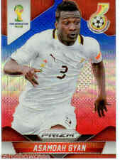 2014 World Cup Prizm Blue Red Wave Parallel Card No.98 A.Gyan (Ghana)