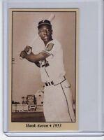 Hank Aaron '53 Jacksonville Braves minor league season Tobacco Road series #9
