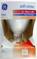 GE 65 Watts Incandescent Flood Light BR40 Bulb #7e8