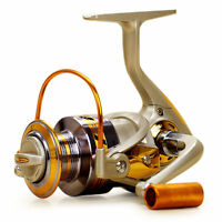 10BB Ball Bearing Saltwater Freshwater Interchangeable Fishing Spinning Reel MC