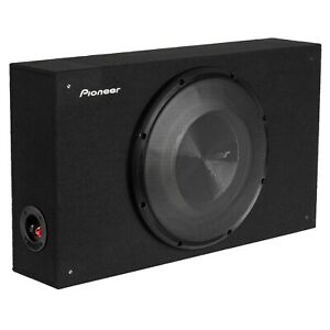 """Pioneer TS-A3000LB A-Series 400W 12"""" Shallow-Mount Loaded Sealed Enclosure Box"""