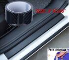 Parts Accessories Sticker Carbon Fiber Vinyl Car Door Sill Scuff Plate Protector